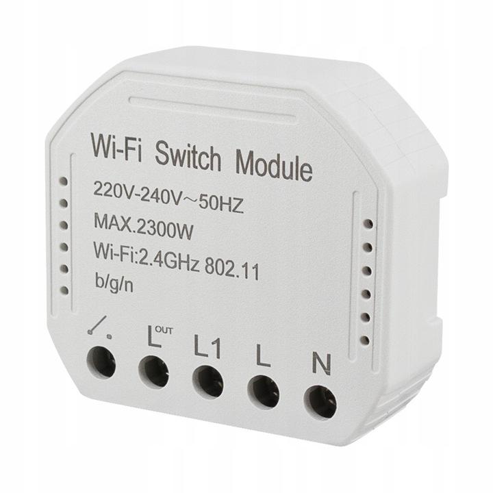 1 Kanał przełącznik Wifi Tuya 2300 W